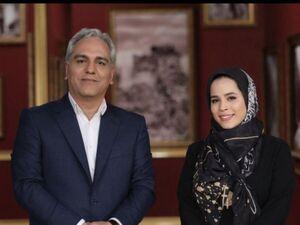 ملیکا شریفی نیا مهمان برنامه دورهمی میشود - کراپشده