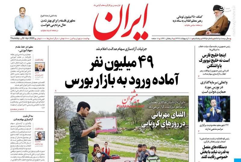 ایران: ۴۹ میلیون نفر آماده ورود به بازار بورس