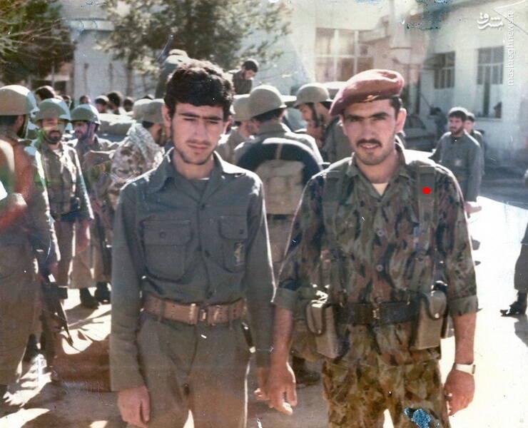 سردار شهید «رضا حسن پور» و برادرش، شهید «محسن حسن پور»