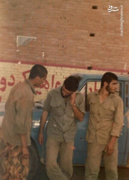 سردار شهید «رضا حسن پور»(نفر وسط)