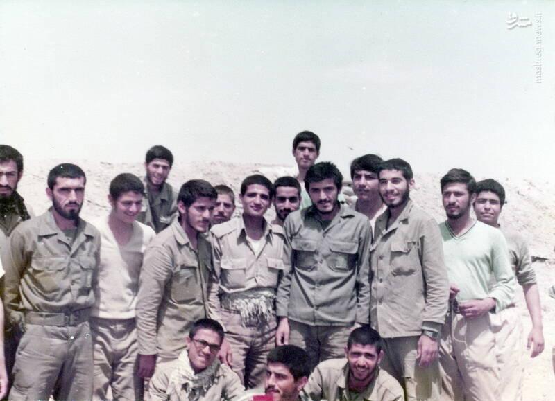 سردار شهید «رضا حسن پور» و شهید «مهدی زین الدین»