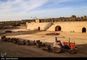 عکس/ راهاندازی کارخانه آجرسازی ۴۵ ساله