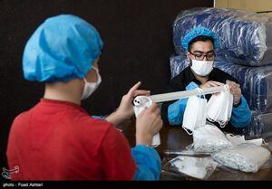 عکس/ بازدید نماینده سازمان بهداشت جهانی از کارگاههای جهادی