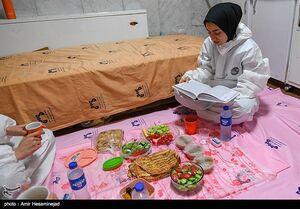فیلم/ حال و احوال مدافعان سلامت در ماه رمضان