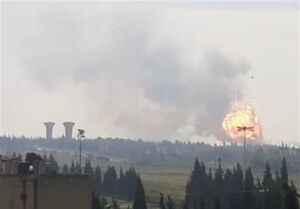 ماجرای انفجارها در یک مرکز نظامی در حمص چه بود؟