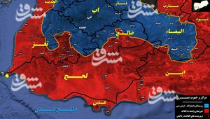 تازه ترین تحولات میدانی یمن/ جزئیات نبردهای سنگین در جنوب شرق و شمال غرب استان البیضاء + نقشه میدانی و عکس