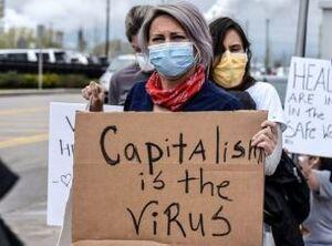 اعتراض مردم نیویورک به نظام سرمایه داری +عکس