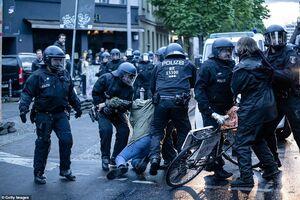 تظاهرات روز کارگر در آلمان