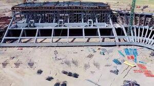 آغاز ساخت استادیوم مدرن جدید در عراق +عکس
