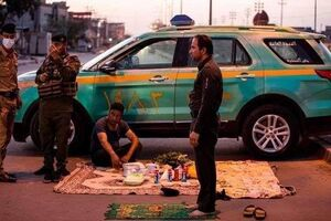 تصویری که در فضای مجازی عراق دست به دست میشود