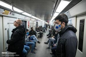 عرضه ماسک یارانهای در ایستگاه های مترو و اتوبوس