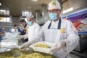 عکس/ اطعام مهدوی در کرمانشاه