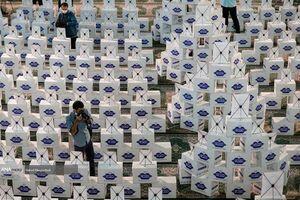 عکس/ توزیع یک میلیون بسته سبد ارزاق