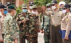 بازدید سرزده فرمانده آجا از دانشگاه افسری امام علی(ع)