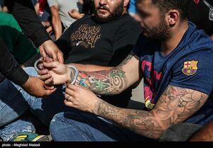فیلم/ بازداشت اراذل و اوباش اینستاگرامی!