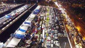 عکس/ ترافیک شدید در استانبول بعد از اتمام قرنطینه