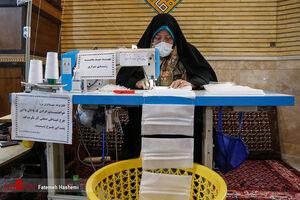 عکس/ اقدامات جهادی بانوان در شرایط کرونا
