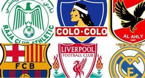 زیباترین لوگوی باشگاه فوتبال در جهان +عکس