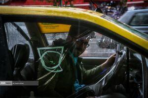 مقابله با کرونا به سبک رانندگان تاکسی