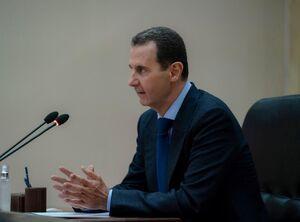 جلسه بشار اسد با ستاد مقابله با کرونا