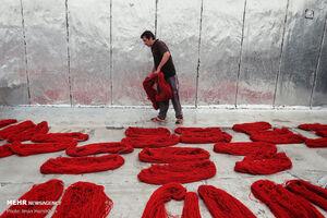 عکس/  کارگاههای رنگرزی در همدان
