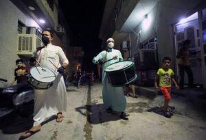 بیدار کردن مردم برای سحر در بغداد