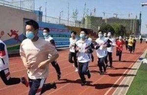 مرگ چند دانشآموز چینی در کلاس ورزش!