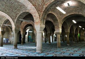 تصاویر زیبا از مسجد جامع همدان