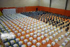 توزیع بیشاز ۵۰ هزار بسته غذایی در سیستان و بلوچستان