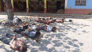 تصاویری از بازداشت مزدوران آمریکایی در ونزوئلا