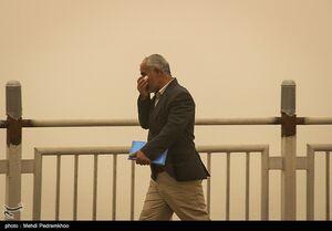 گرد و خاک ادارات خوزستان را به تعطیلی کشاند
