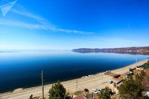 دریاچهای زیبا در روسیه