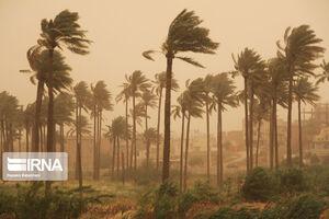 عکس/ گرد و غبار در آسمان قصرشیرین
