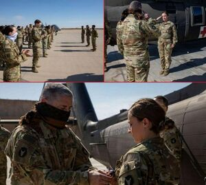 سربازان و افسران ارتش ابر قدرت، ماسک ندارند؟! +عکس