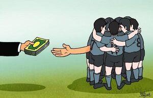 درخواست دستمزد دلاری فوتبالیستهای ایرانی/ ناز کن میلیاردی پول بگیر!