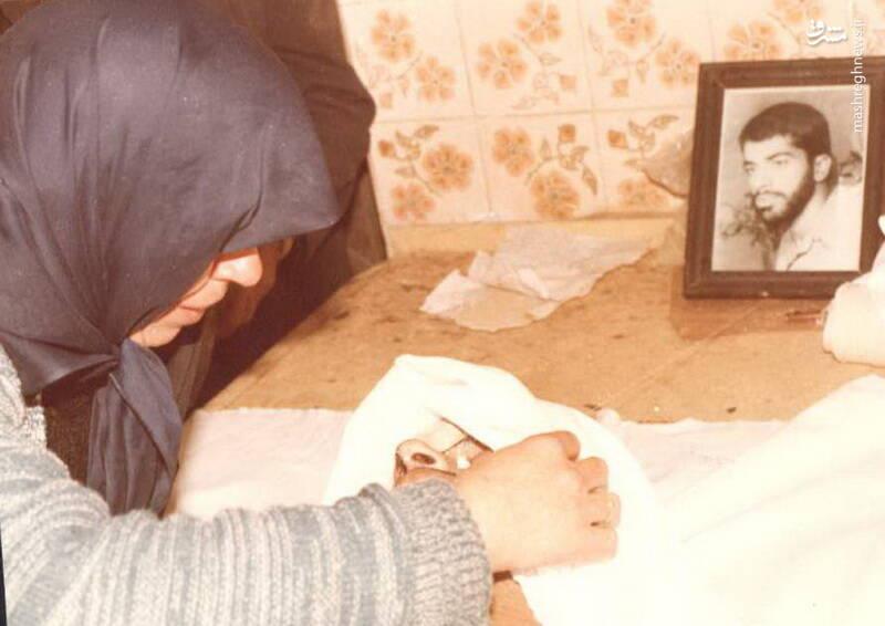 آخرین دیدار شهید علی میوهچین با مادرش