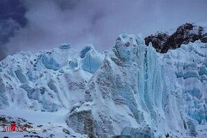 عکس/ یخچالهای دیدنی تبت