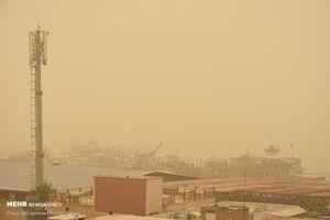 عکس/ آبادان در محاصره گرد و خاک