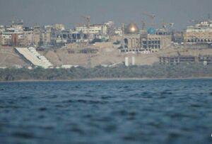 تصویری زیبا از دریای نجف یا بحر النجف