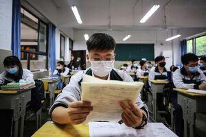 بازگشایی مدارس در ووهان چین