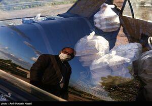 عکس/ طرح اطعام مهدوی در قزوین