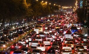 فیلم/ خیابان ولیعصر تهران پس از وقوع زلزله