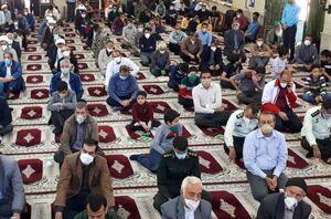 تصاویری از اولین نماز جمعه پس از شیوع کرونا