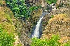 آبشار دیدنی در آذربایجان غربی