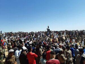 عکس/ فراخوان قبایل عراق در حمایت از نیروهای امنیتی