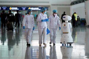 عکس/ فناوری رباتها در برابر ویروس کرونا