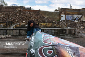 عکس/ «ورنکش» شش ماه پس از زلزله