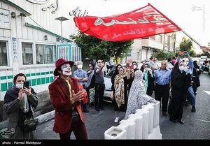 جوکر در خیابان های تهران