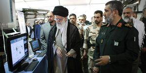 انتشار تصاویر جدید از بازدید رهبر انقلاب از نمایشگاه هوافضای سپاه
