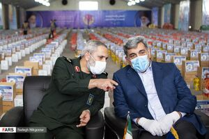 عکس/ رزمایش همدلی در مصلای تهران